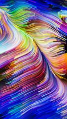 Digital Life of Liquid Color