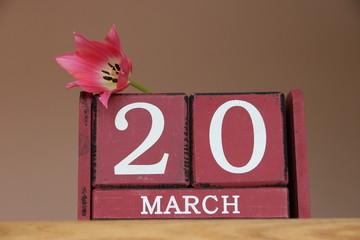 Am 20.März ist Frühlingsanfang