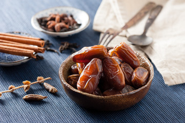 dried dates fruit (Date palm)