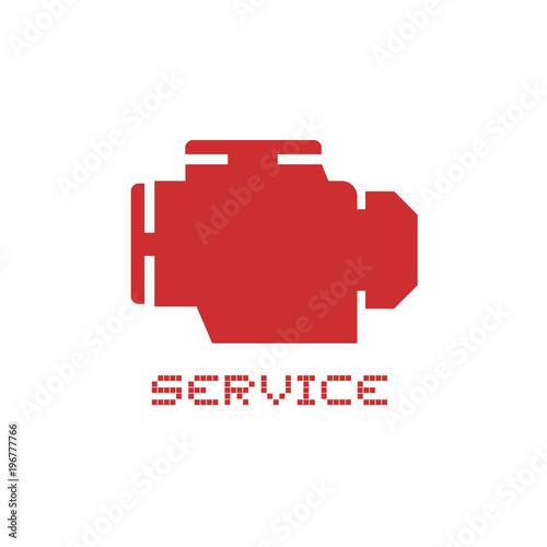 alarm motor symbol\
