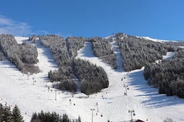 Auvergne-Rhône-Alpes - Isère - Villard-de-Lans - Domaine skiable sous le soleil