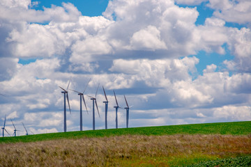 Windfarm In Eastern Oregon