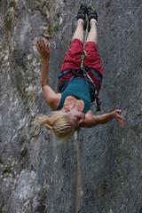 aerial dancer on rope