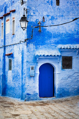 Blue city of Chefchaouen Morocco