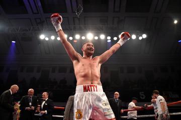 Matty Askin vs Stephen Simmons - British Cruiserweight Title