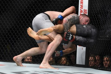 MMA: UFC Fight Night-Ray vs Johnson