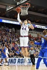 NCAA Basketball: NCAA Tournament-Second Round-Kansas vs Seton Hall