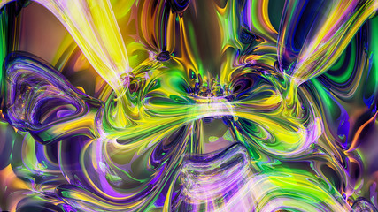 abstract glass color background