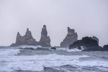 Black Beauty of the Sea - Vík í Mýrdal, Iceland, Reynisfjara