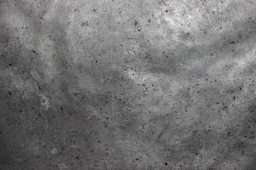 Rough metal texture, gray steel or cast iron surface