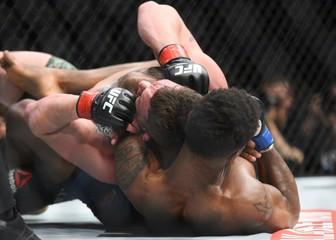 MMA: UFC Fight Night-Phillips vs Byrd
