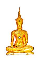 Buddha is enshrined at the Chedi Chedi Pagoda in Phayao.