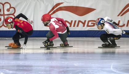 Short Track Speedskating: 2018 ISU World Short Track Championships