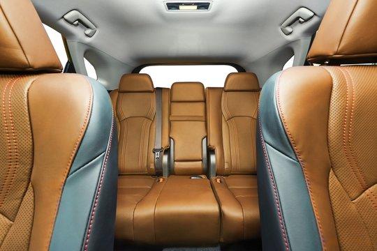 Car Interior Backseats