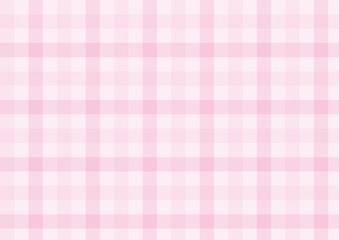 ガンクラブチェック-淡いピンク