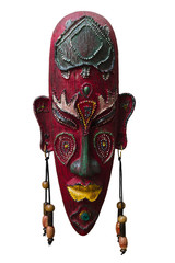 Wooden African ritual mask