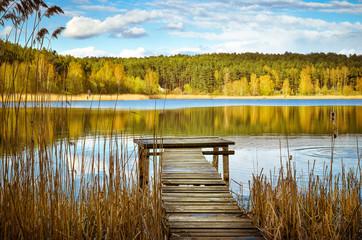 Fototapeta Jezioro na Mazurach obraz