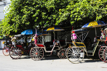 carriage lampang thailand north travel