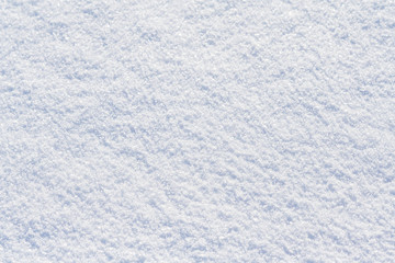 White snow surface (abstract, background, texture)