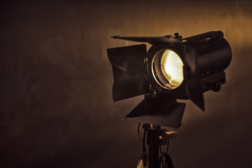 film shooting light