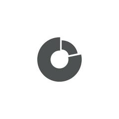 graph icon. sign design