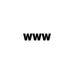 www icon. sign design
