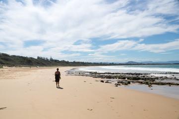 Australischer Strand im Pazifik