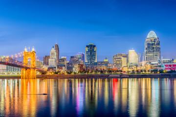 Wall Mural - Cincinnati, Ohio, USA Skyline