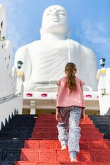 Little girl in Sri Lanka