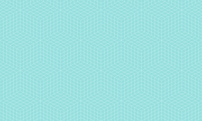 Pattern geometric line square seamless luxury design green aqua colors background.