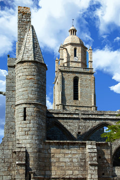 Batz sur mer. L'église saint Guénolé. Loire Atlantique, Pays de Loire