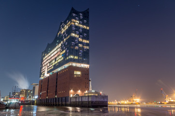 Elbphilharmonie Hamburg im Winter