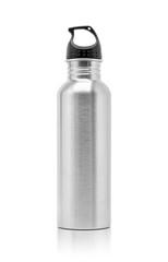 metallic aluminum water drinking bottle for sport activity
