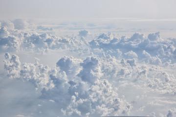 Fotobehang - blue sky background