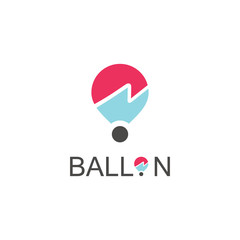 ballon logo vector