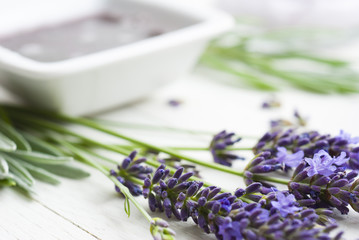 Lavender and soft soap