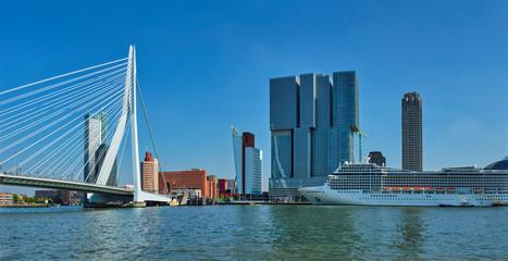 Papiers peints Rotterdam Rotterdam cityscape, Netherlands