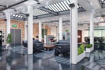 Großraumbüro - Bürogebäude - Bürofläche - Gewerbefläche - Immobilie