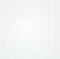 Geometric thin line white background. Simple graphic print. Vector modern minimalistic stylish trellis. Chaotic grid. Trendy hipster sacred geometry.