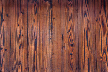 Wood texture. Surface of dark wood background for design and decoration