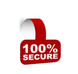 banner 100% secure