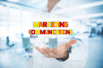 Marketing communications concept