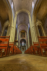 The Cathedral Saint Trophime in Arles, France. A World Heritage Site