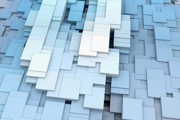 3d cubes background