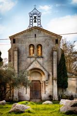L'église de Barcarin à Salin du Giraud
