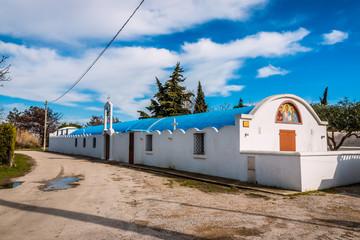 L'église Orthodoxe à Salin du Giraud