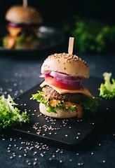 Veggie-Burger - gesundes Fastfood