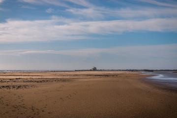 La plage de Piémanson en Camargue