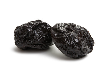 prunes isolated
