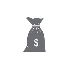 money bag icon. Simple element illustration. money bag symbol design template. Can be used for web and mobile
